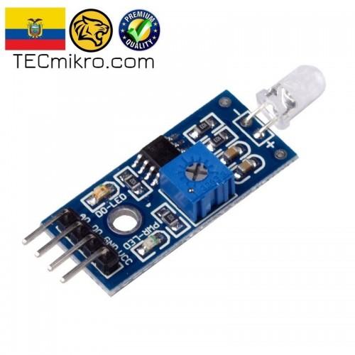Sensor de luz con fotodiodo