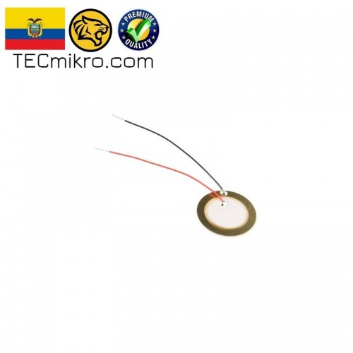 Disco piezoelectrico - Buzzer Pasivo