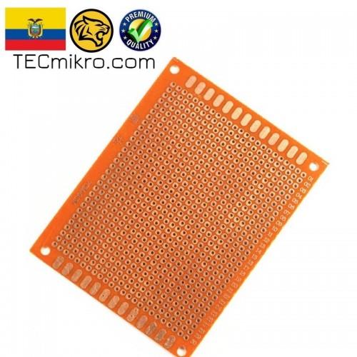 Baquelita perforada para circuitos electrónicos