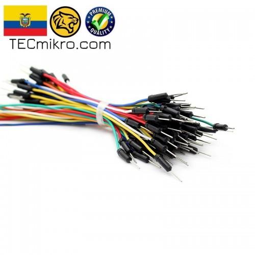 Cables para protoboard