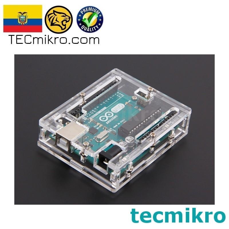 Case de acrilico para Arduino UNO R3