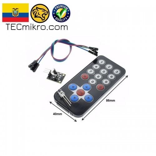Control Remoto Infrarrojo HX1838