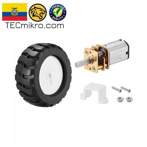 Micro motorreductor N20 con rueda