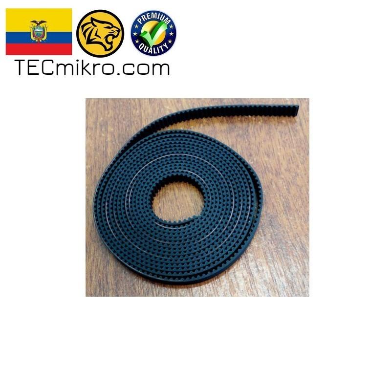 1 Unidad Correa De Impresora 3D Lazo Cerrado Goma Correa Distribuci/ón Gt2 2gt-6-852mm