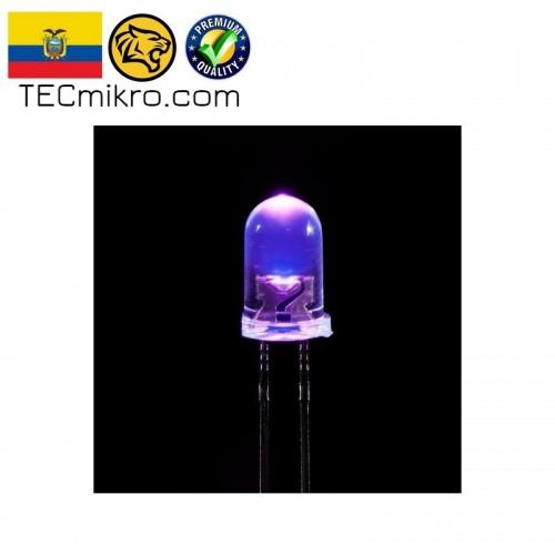 Diodo LED UV ultravioleta 5mm