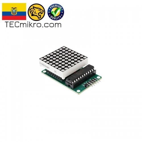 Modulo de 1 matriz LED con MAX7219