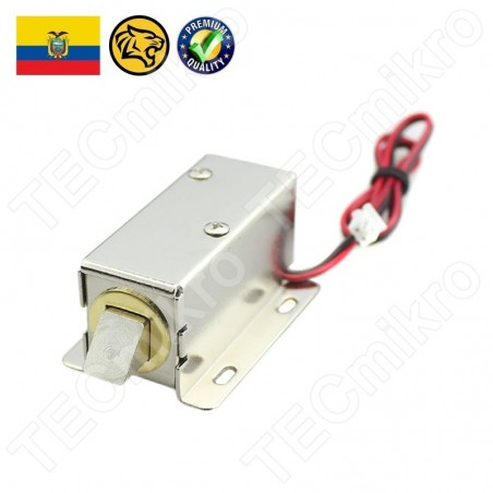 Cerradura Eléctrica Con Solenoide 12VCD