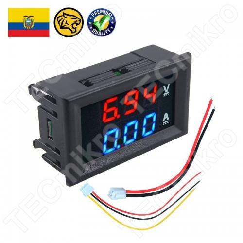 Voltimetro Amperimetro de CD para panel