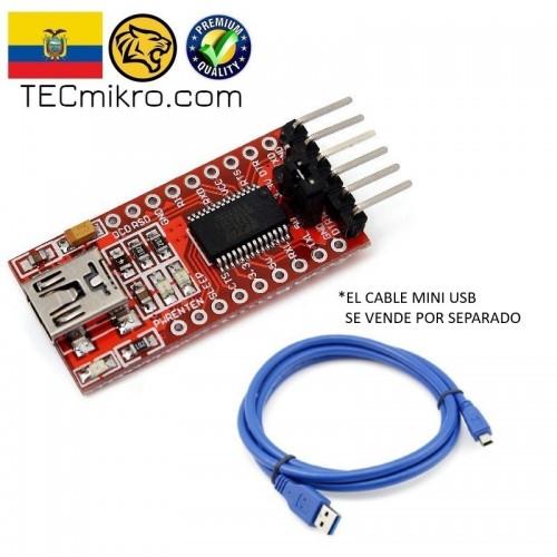 Conversor convertidor USB Serial TTL