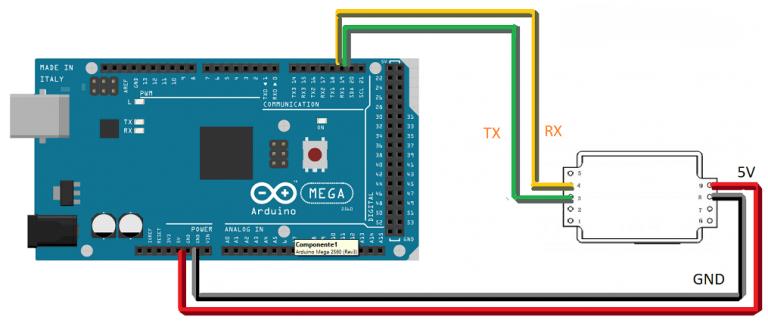 Sensor MH-Z19B de CO2 para Arduino